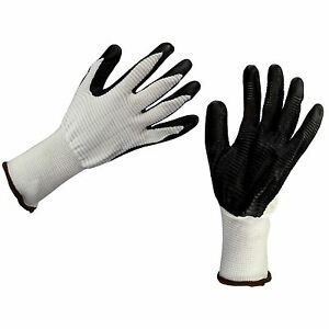 NEW-BUILDERS-CONSTRUCTION-GARDENING-WORK-GLOVES-LATEX-RUBBER-COATED-Size-XL