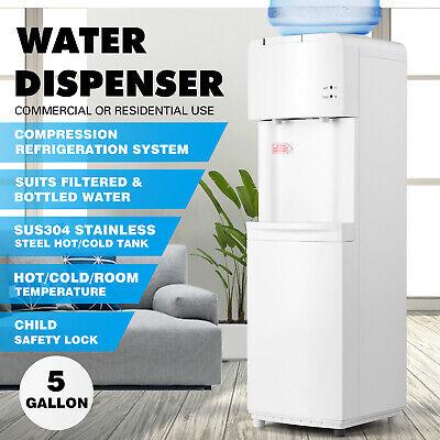 Top Loading Water Cooler Dispenser Compressor Refrigeration Hotcold Homeoffice