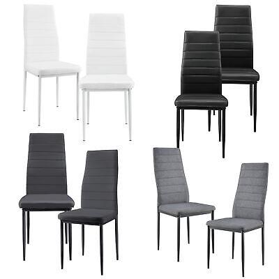 Zimmer Stuhl ([en.casa]® Esszimmerstuhl 2er Set Wohnzimmer Küchenstuhl Esszimmer Stühle)