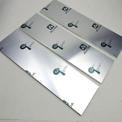 .375 Thick Cast Aluminum Mic-6 Alcoa Flat Plate 5.125 X 18 Qty 3 Sku 136729