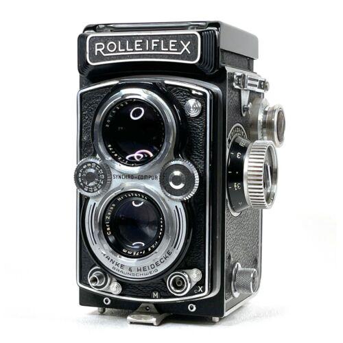 :Rolleiflex 3.5 B 3.5B MX-EVS 6x6 120 TLR Camera w/ Tessar 75mm Lens [EX+++]