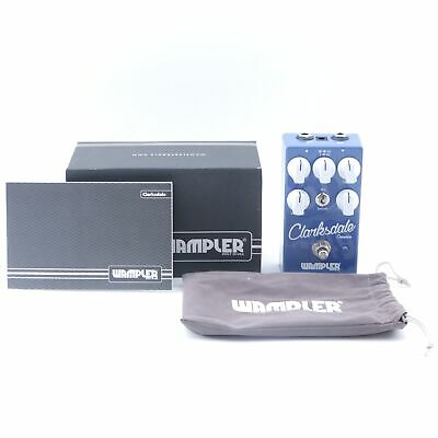 Wampler Clarksdale Overdrive Guitar Effects Pedal w/ Box P-11034