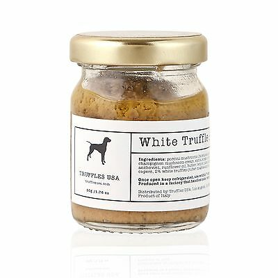Truffles USA White Truffle Sauce 1.76oz (50g) Organic Product of Italy