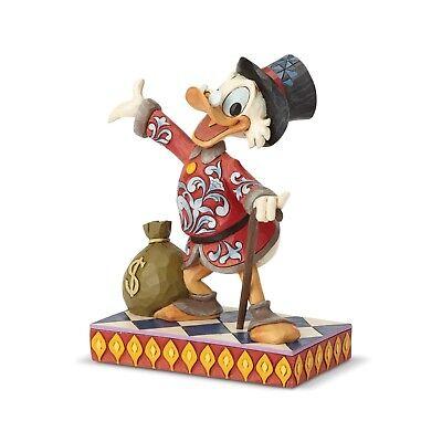 Jim Shore Donald Duck - JIM SHORE DISNEY Figurine SCROOGE DUCK TALES Statue Sculpture Donald Money Bag