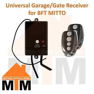Garage-Door-Slide-Sliding-Swing-Gate-Remote-Receiver-Compatible-with-BFT-Mitto