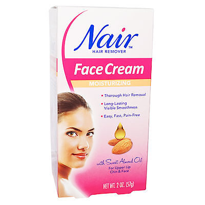 Nair Hair Remover MOISTURIZING FACE CREAM for Upper Lip Chin and Face