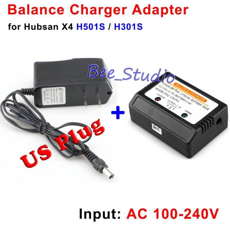 Hubsan X4 H501S H501C H502S H502E RC 7.4V Lipo Battery Balance Charger EU plug