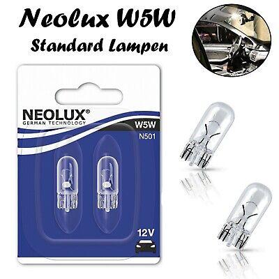 Neolux W5W 12V N501-02B Innenbeleuchtung Standlicht Bremslicht Parklicht Lampen
