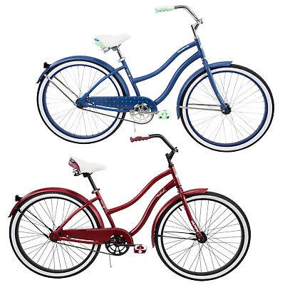 Womens Cruiser Bike Beach City Vintage Bicycle Single Speed Coaster 26