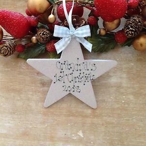 Grandpas-First-Christmas-Star-Tree-Decoration-Baby-s-1st-Christmas-Tree-Gift
