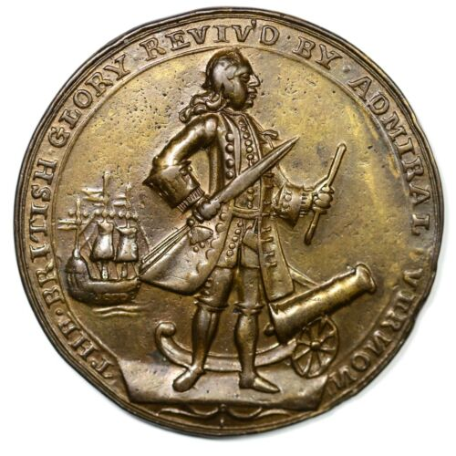 1739 Admiral Vernon Betts Medal