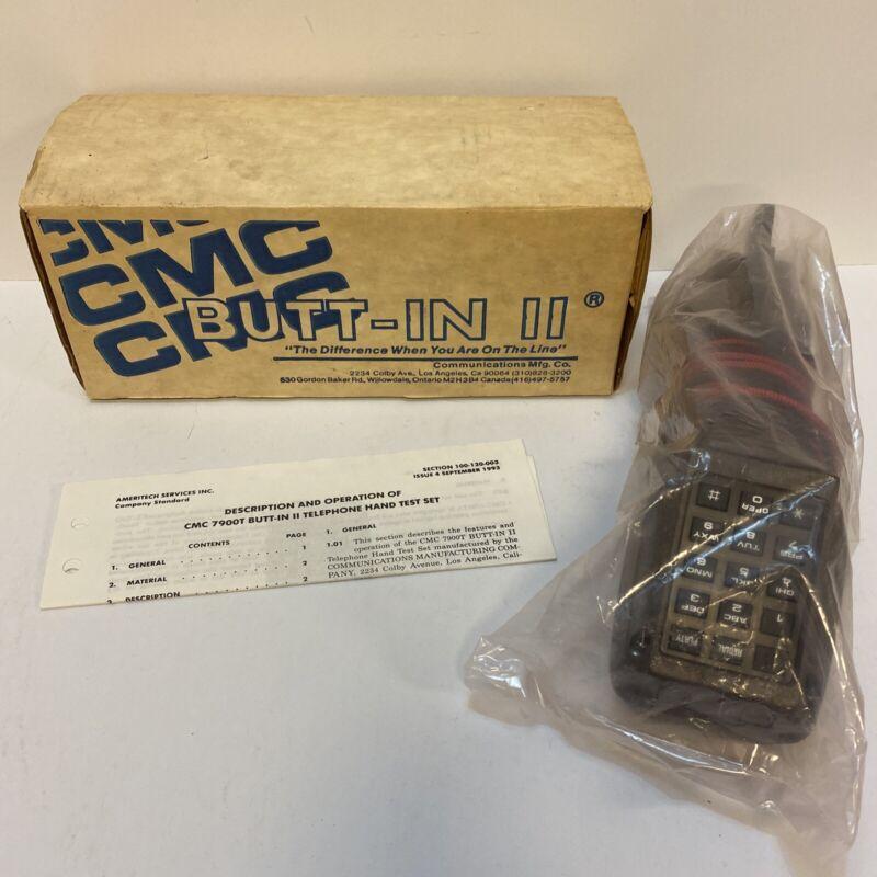 NOS Ameritech CMC 7900T Butt-In 2 Telephone Hand Test Set