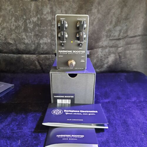 Darkglass Harmonic Booster Clean Bass Preamp Pedal