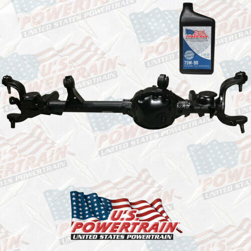 New Front 97-06 Wrangler Axle Dana 30 Lhd 3.07 Ratio W/ Ball Joints And Fluids