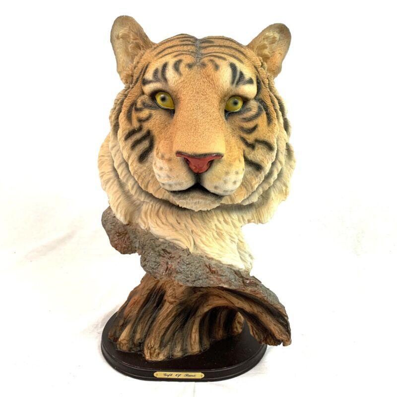"Tiger Tree Tiger King Bust 17"" Figure Joe Exotic Carole Baskin"