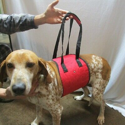 - Dog Lift Harness Assist Pet Support Carrier Injured Back Hip Arthritis