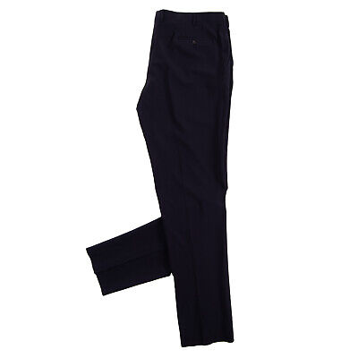 RRP€240 PAL ZILERI LAB Thin Wool Flat Front Trousers Size 66 / 5XL Made in Italy