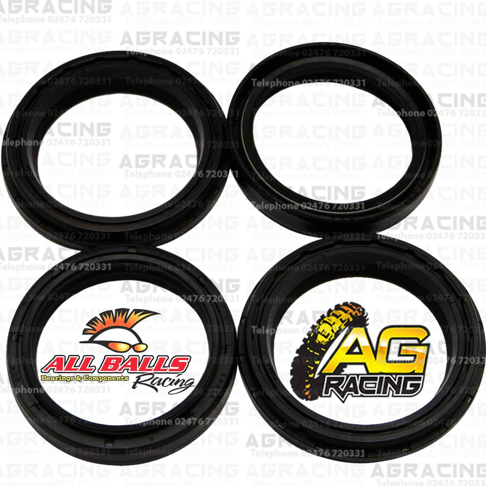By AllBalls Racing Yamaha YZ125 1996 to 2003 Models Fork Oil Seals