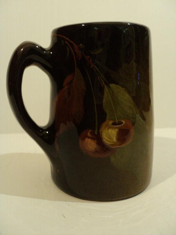 "ANTIQUE J. B. OWENS ART POTTERY STANDARD GLAZE ""UTOPIAN"" MUG, c.1906"