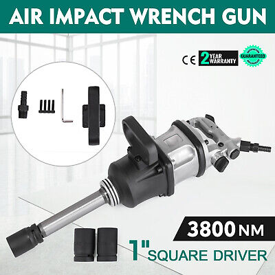 1 Pneumatic Impact Wrench Industrial Air Impact Wrench 3800n.m W 8 Anvil
