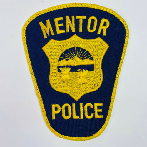 Mentor Police Ohio Patch