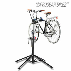 NEW-BICYCLE-BIKE-REPAIR-STAND-WITH-BONUS-TOOL-TRAY