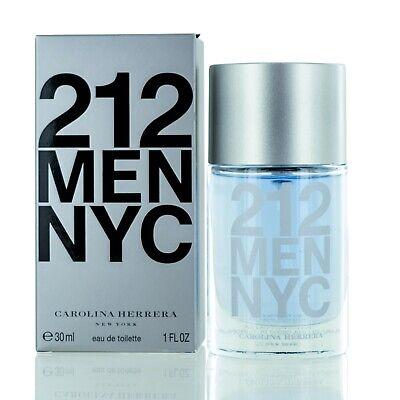 212 NYC for Men by Carolina Herrera Eau De Toilette spray 1.0 Oz-new in box