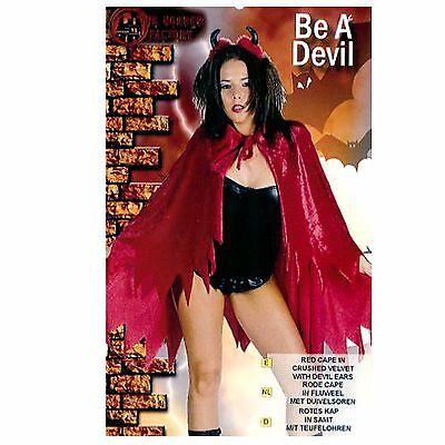 KarnevalsTeufel Teufelscape 2. Wahl Fasching Halloween Walpurgisnacht 12146413 (Teufel Halloween)