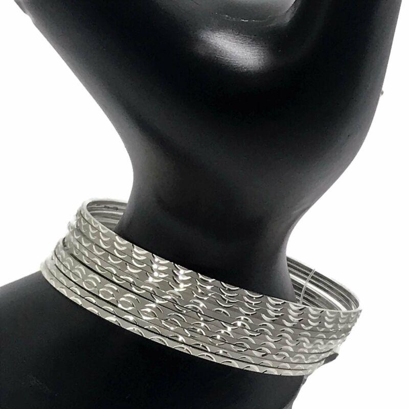 925 Sterling Silver Bangle Bracelet - Set of Twelve((Style#06)