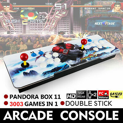 Pandoras Box 11S 3003 in 1 Video Games Double Stick Arcade Console Funny Moments