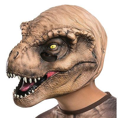 Jurassic World Kids Tyrannosaurus Rex Dinosaur T-Rex 3/4 Child Costume Mask