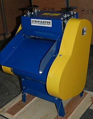 Bluerock Tools Model 930 Stripinator Wire Stripping Machine Copper Recycling