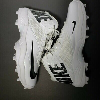 Nike Men's 15 White Black Zoom Code Elite 3/4 Shark Football Cleats Promo Sample](Shark Promo Code)