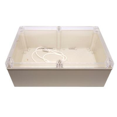 Us Stock 1pc Plastic Project Box Electronic Enclosure Case Diy 90 X 160 X 240mm
