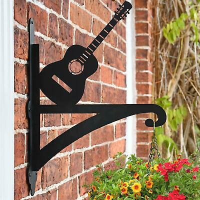 New Guitar Hanging Iron Basket Bracket - 44cm x 33cm