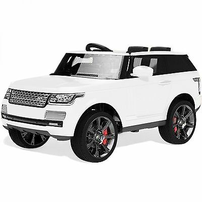 *Kids Range-Rover Vogue SVR Sport-Style 12v Electric Battery Ride on Car-White