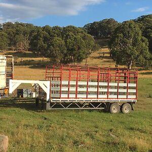 Livestock trailer, gooseneck Armidale Armidale City Preview