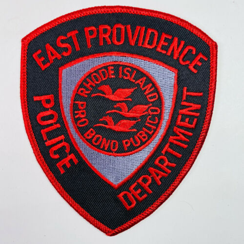 East Providence Police Rhode Island Patch (A5-A)