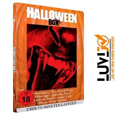 Halloween Horror Blut-Box (Metallbox-Edition 9 Filme) - FSK18 - 3 DVDs - (Halloween Dvds)