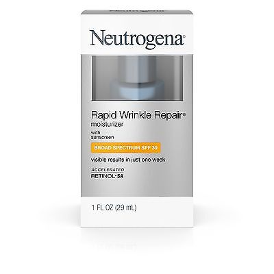 Neutrogena Rapid Wrinkle Repair Moisturizer SPF30 1oz New in Box Exp (07/2019)