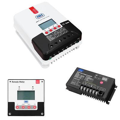 Solar Laderegler MPPT 12V 24V Volt mit Display Solarregler  10A 20A 30A 40A ()