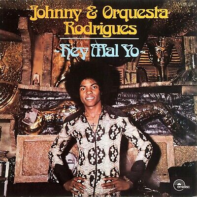 Johnny & Orquesta Rodrigues - HEY MAL YO 1975 Afrobeat Latin Funk & Soul AFRO LP