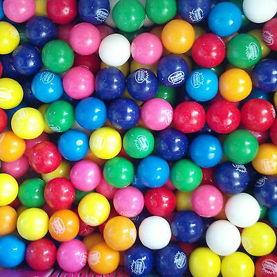 """Dubble Bubble Assorted 1"""" / 24mm  Gumballs 3 Lbs  Free Shipping Always Fresh"""