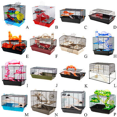 Premium Hamster Cages Luxury for Dwarf Hamster, Hamsters, Gerbils, Syrian