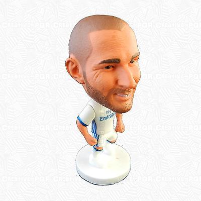 Karim Benzema Figurine Toys Collection Real Madrid Shirt On Player Karim Collection