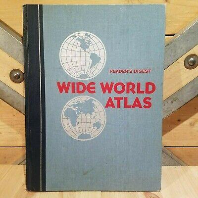 Wide World Atlas Reader's Digest 1980 - Swanky Barn