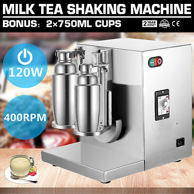 Bubble Boba Milk Tea Shaker Shaking Machine Mixer 400rmin Control Shop Electric