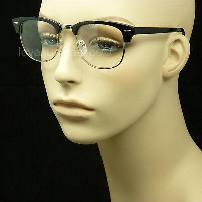 Clear lens glasses nerd geek fake men women retro vintage hipster frame color