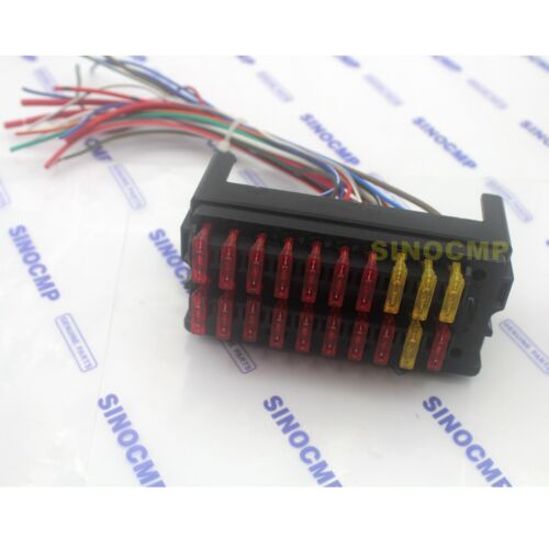 fuse box assembly komatsu pc200 5 excavator fuse box assembly fuse box assembly for komatsu pc 7 pc200 7