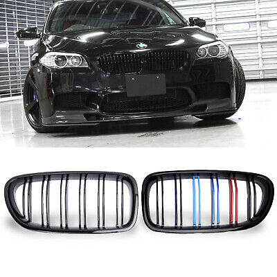 M-Color Front Kidney Grill Grille for BMW M5 F10 528i 535i 550i Sedan 2009-2016